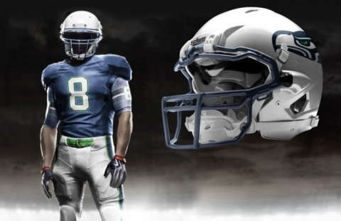 Introducing The New Logo Introducing New Uni S Seahawks Draft Blog